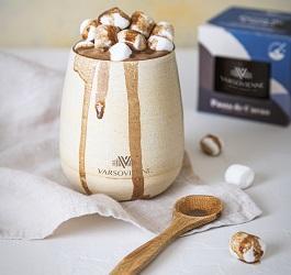 Cómo hacer un chocolate caliente con Varsovienne
