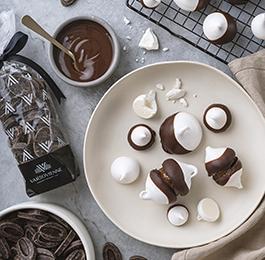 Merenguitos con Chocolate Bitter